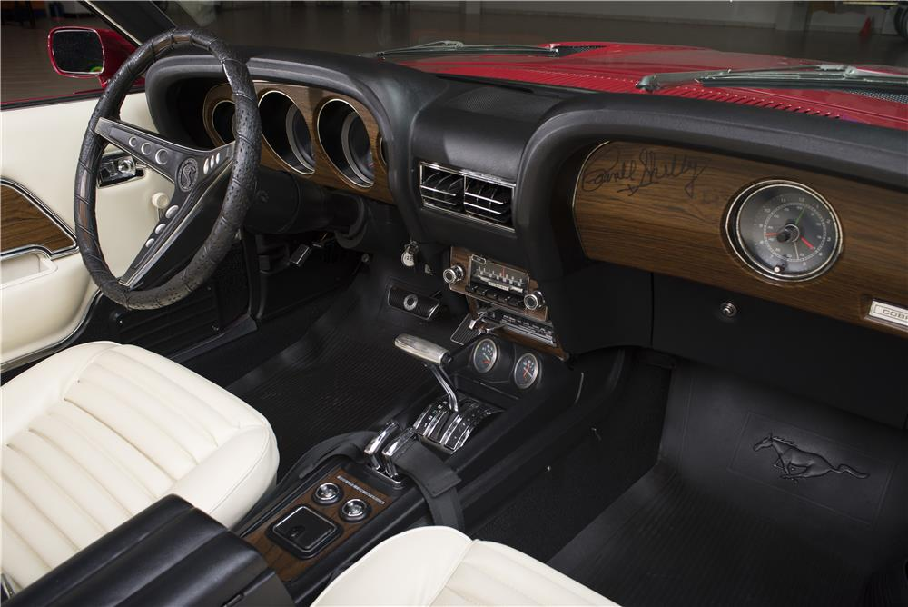 "1969 SHELBY GT500 CONVERTIBLE ""CARROLL SHELBY'S"" - Interior - 178452"