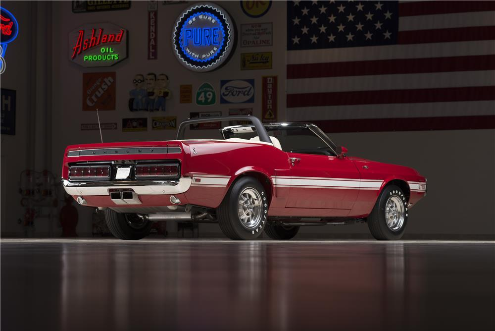 "1969 SHELBY GT500 CONVERTIBLE ""CARROLL SHELBY'S"" - Rear 3/4 - 178452"