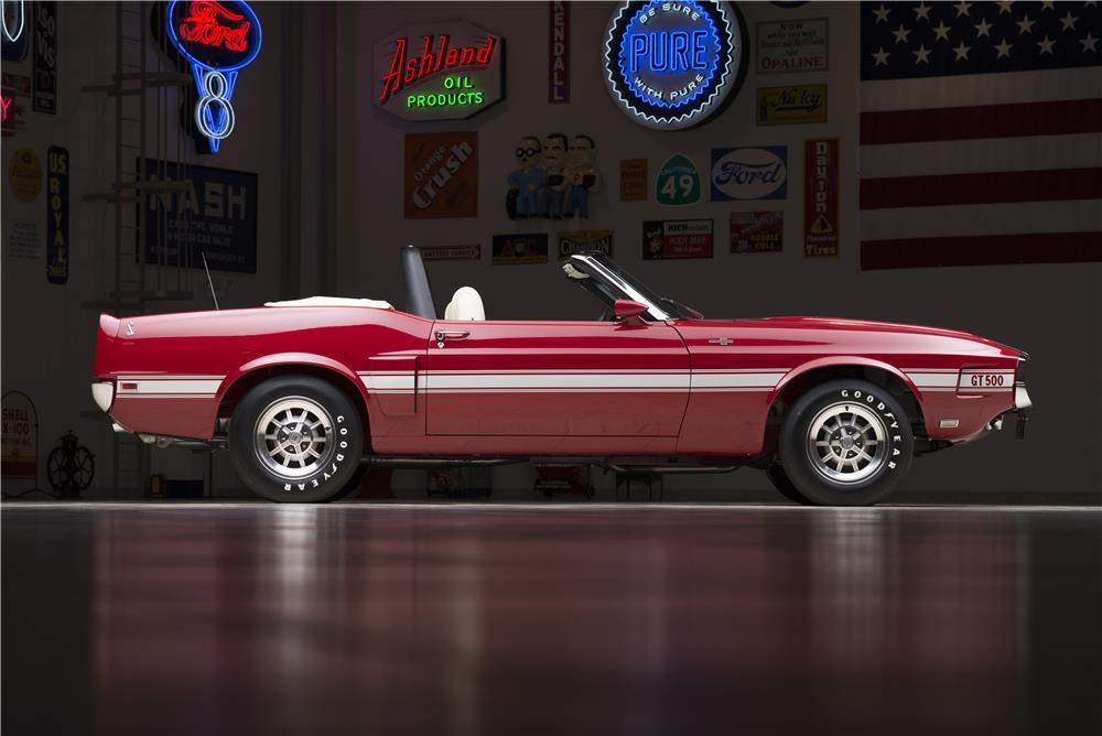 "1969 SHELBY GT500 CONVERTIBLE ""CARROLL SHELBY'S"" - Side Profile - 178452"