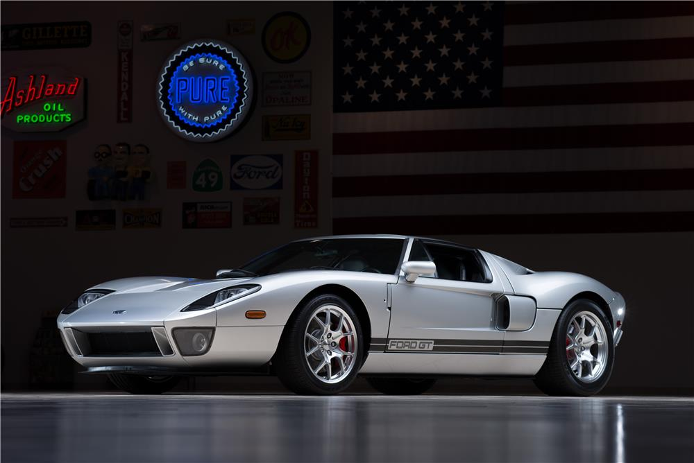 2005 FORD GT SERIAL #003 - Front 3/4 - 178454