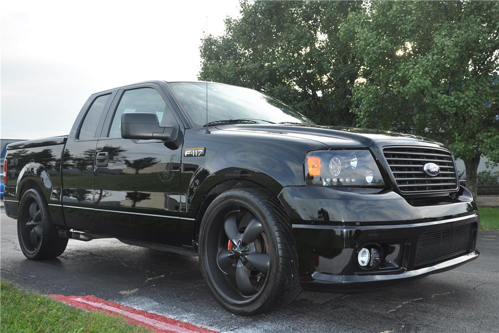 "2006 FORD F-150 CUSTOM ""F117"" SUPERCHARGED - Front 3/4 - 178457"
