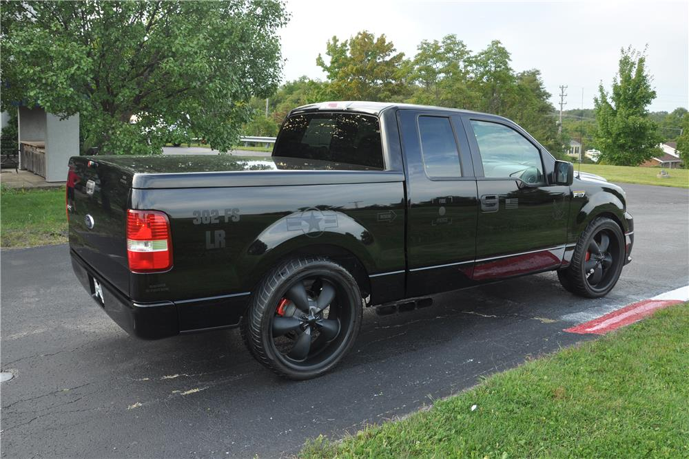 "2006 FORD F-150 CUSTOM ""F117"" SUPERCHARGED - Rear 3/4 - 178457"