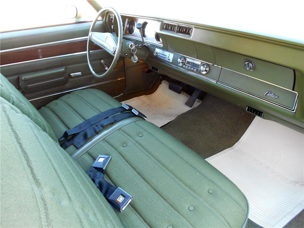 1971 OLDSMOBILE CUTLASS S - Interior - 178458