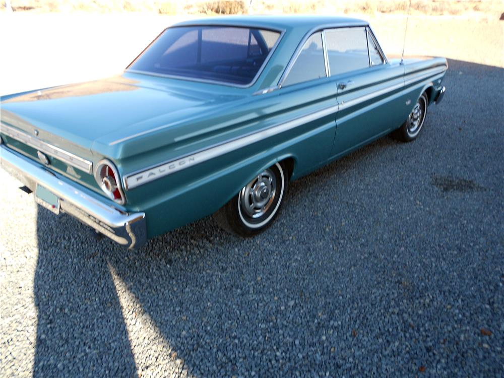 1965 FORD FALCON - Rear 3/4 - 178460