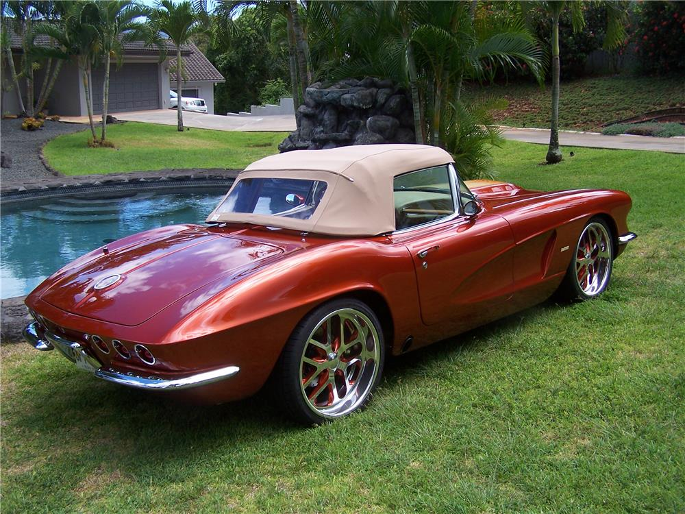 1962 chevrolet corvette custom roadster 178471. Black Bedroom Furniture Sets. Home Design Ideas