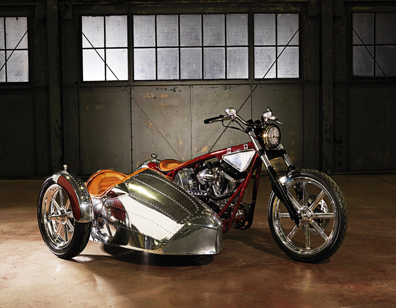 2008 'WEST COAST CUSTOMS' AIRSTREAM CUSTOM MOTORCYCLE - 178479