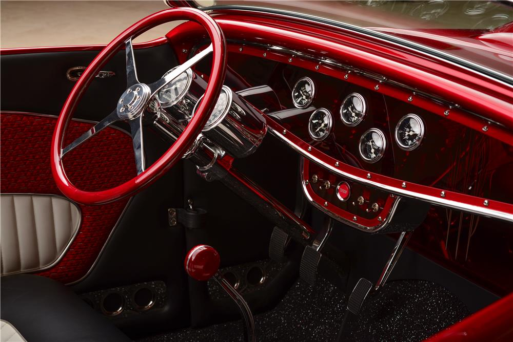 1932 FORD CUSTOM SHOW ROADSTER - Interior - 178486