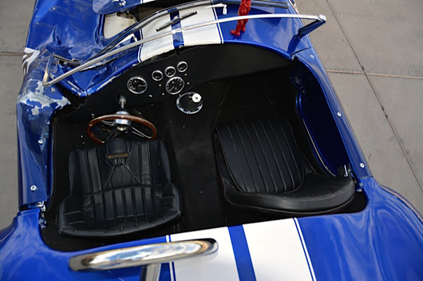 1965 SHELBY COBRA RE-CREATION ROLLING CHASSIS - Interior - 178492