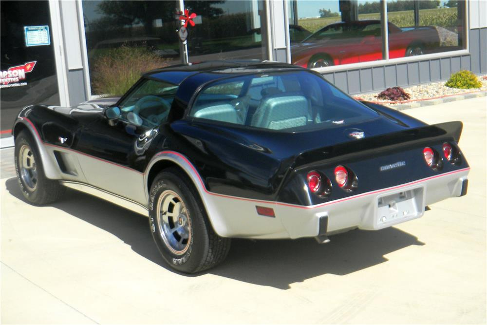 1978 CHEVROLET CORVETTE - Rear 3/4 - 178495