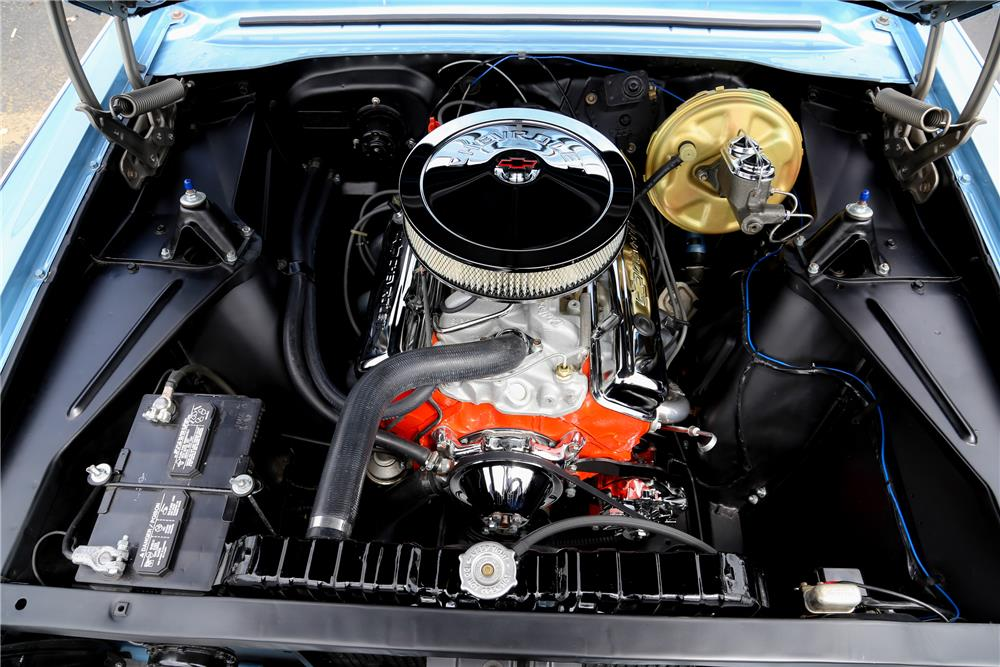 1963 CHEVROLET NOVA SS - Engine - 178497