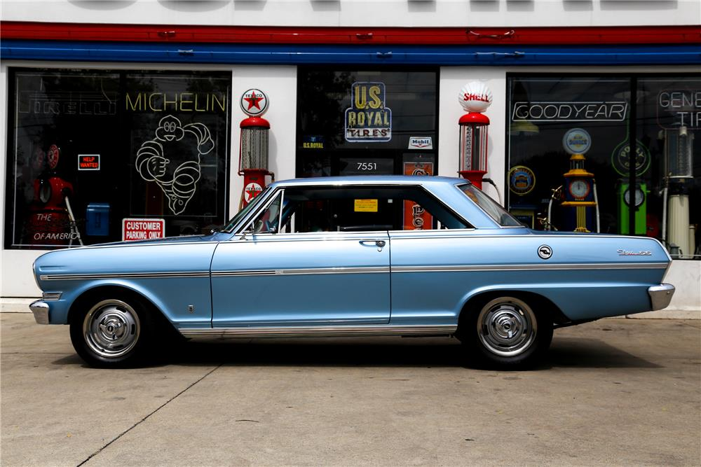 1963 CHEVROLET NOVA SS - Side Profile - 178497