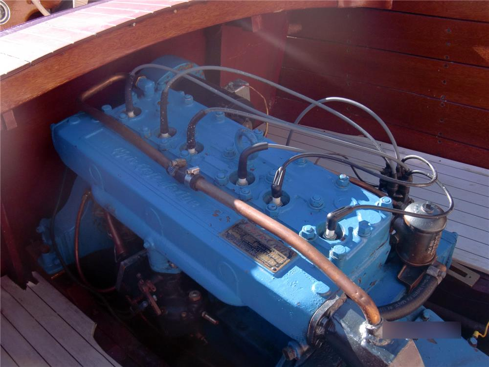 1949 CHRIS-CRAFT SPORT RUNABOUT BOAT - Engine - 178503
