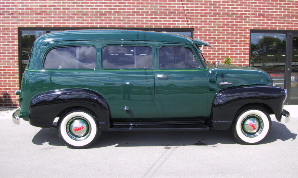 1952 GMC SUBURBAN  - Side Profile - 178511