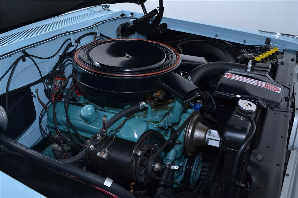 1961 PONTIAC BONNEVILLE CONVERTIBLE - Engine - 178514