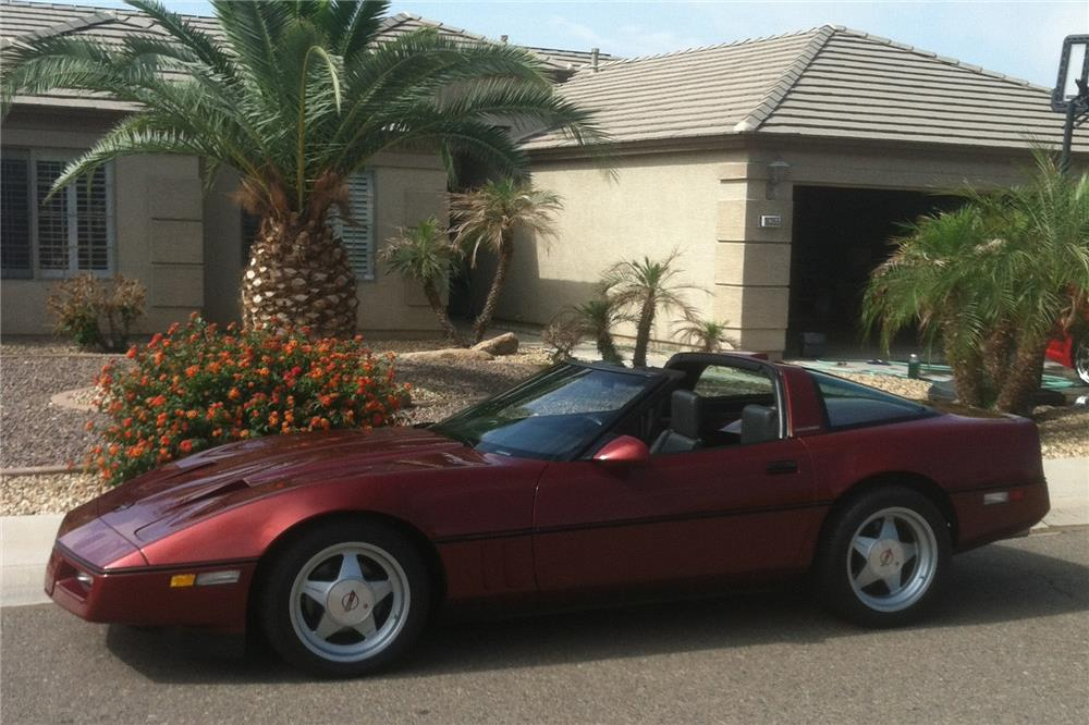 1987 CHEVROLET CORVETTE CALLAWAY COUPE - Side Profile - 178523