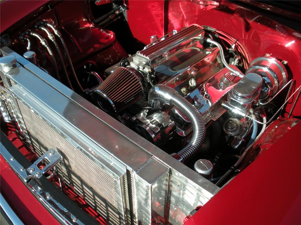1955 CHEVROLET BEL AIR CUSTOM - Engine - 178530