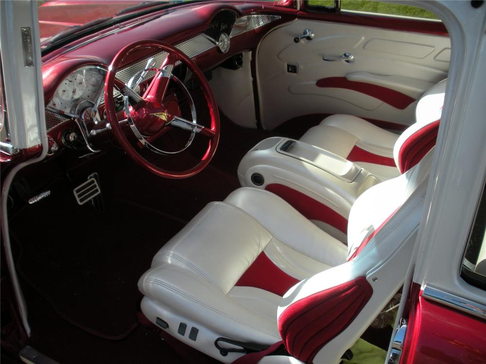 1955 CHEVROLET BEL AIR CUSTOM - Interior - 178530