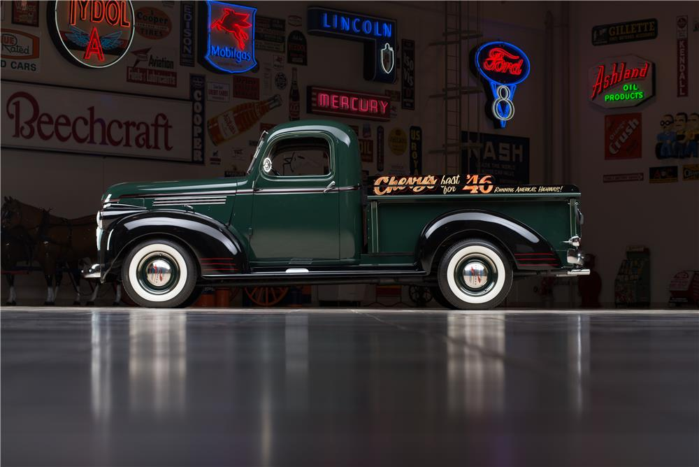 1946 CHEVROLET 3100 PICKUP - Side Profile - 178536
