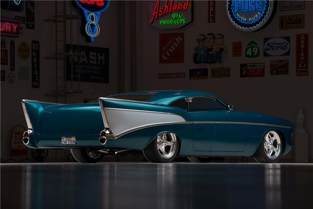 Rear Web on 1957 Chevy Bel Air