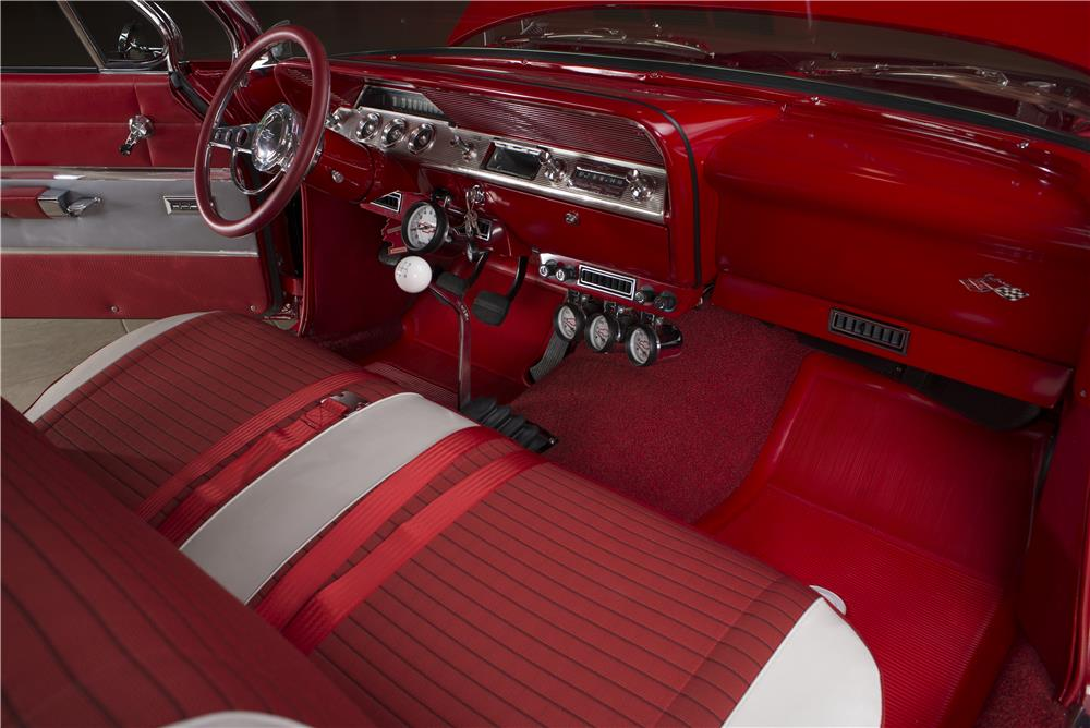 1961 CHEVROLET IMPALA CUSTOM BUBBLE TOP - Interior - 178546