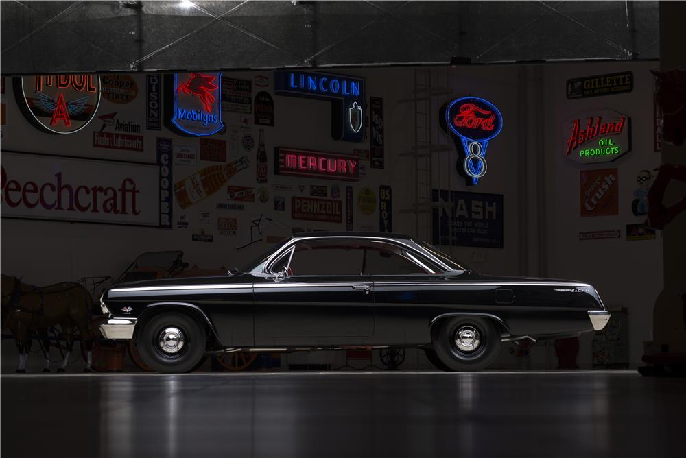 1962 CHEVROLET BEL AIR BUBBLE TOP - Side Profile - 178547