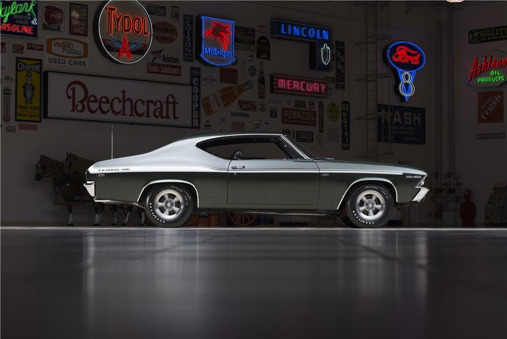 1969 CHEVROLET CHEVELLE YENKO 427 - Side Profile - 178551