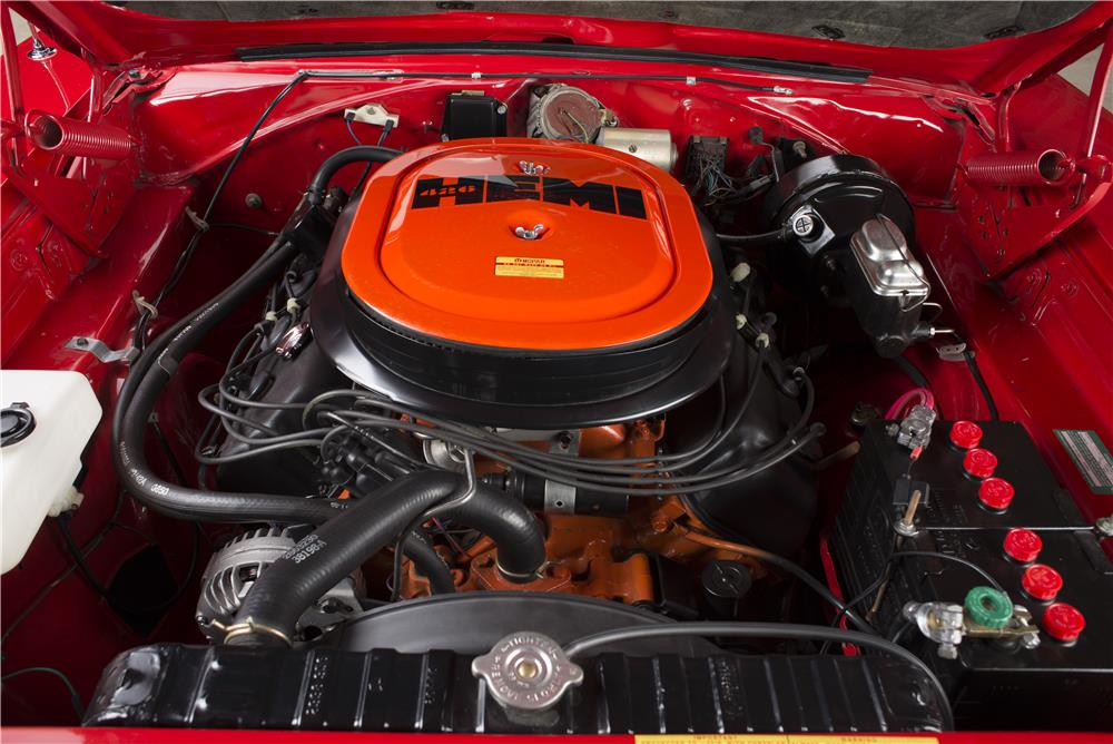 1970 DODGE HEMI CHARGER R/T - Engine - 178555