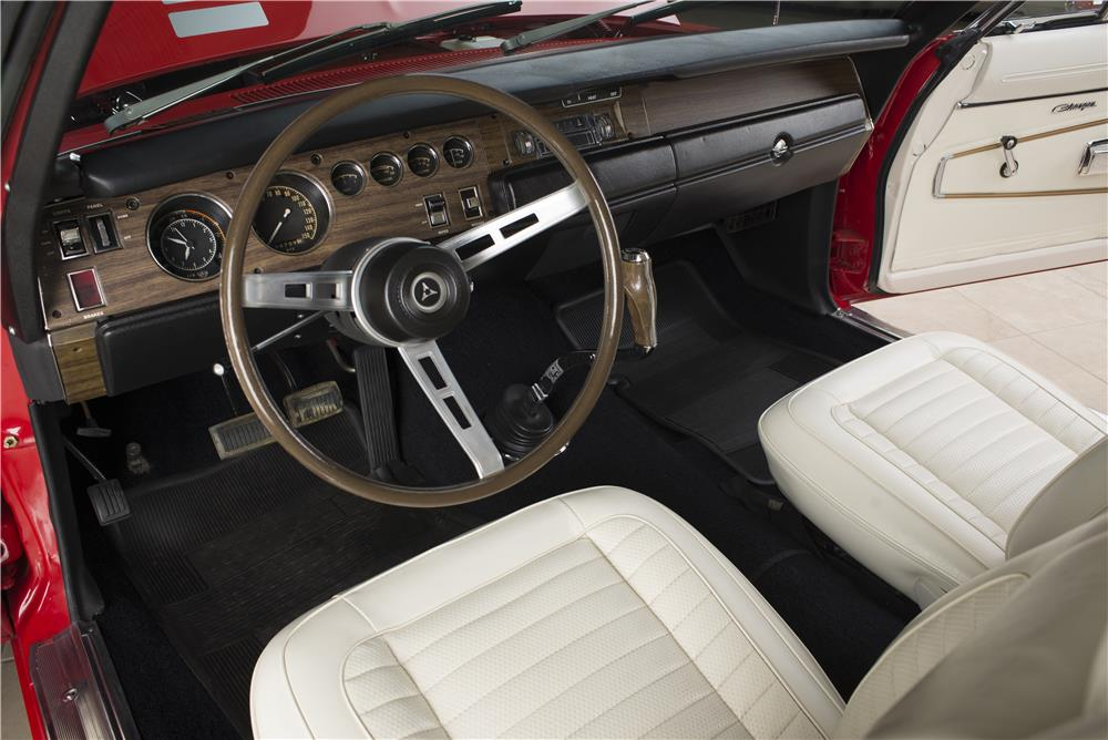 1970 DODGE HEMI CHARGER R/T - Interior - 178555