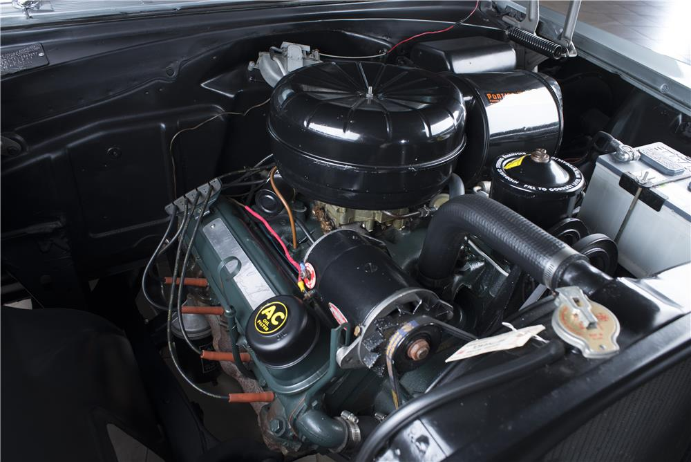 1955 PONTIAC STAR CHIEF CONVERTIBLE - Engine - 178559
