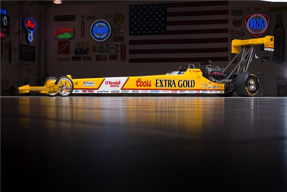1990 COORS EXTRA GOLD TOP FUEL DRAGSTER REPLICA - Front 3/4 - 178561