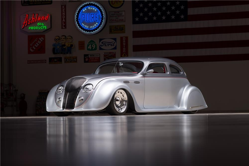 1936 CHRYSLER AIRFLOW CUSTOM 2 DOOR COUPE - Front 3/4 - 178565