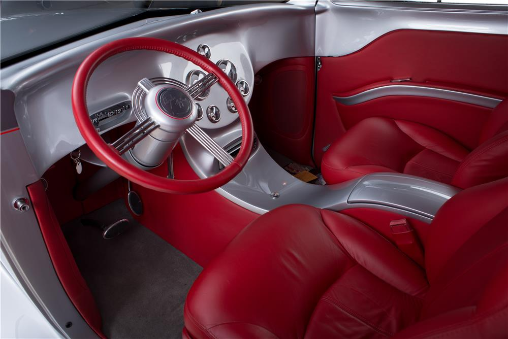 1936 CHRYSLER AIRFLOW CUSTOM 2 DOOR COUPE - Interior - 178565