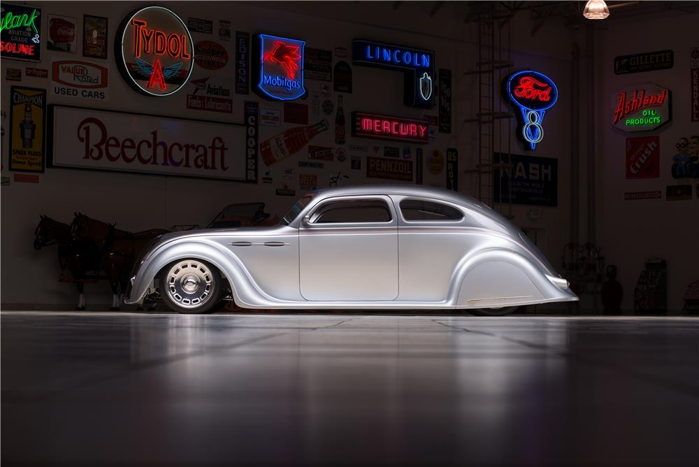 1936 CHRYSLER AIRFLOW CUSTOM 2 DOOR COUPE - Side Profile - 178565