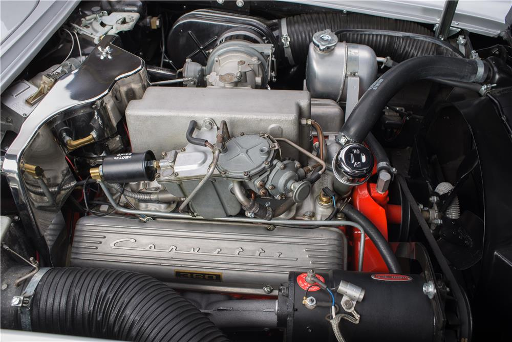 "1962 CHEVROLET CORVETTE CONVERTIBLE ""FUELIE"" - Engine - 178568"
