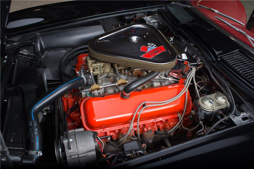 1967 CHEVROLET CORVETTE CONVERTIBLE - Engine - 178569