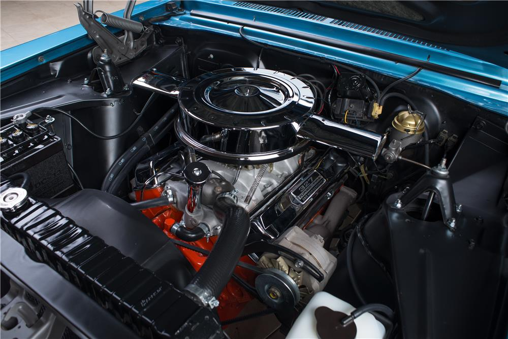 1966 CHEVROLET NOVA SS - Engine - 178578