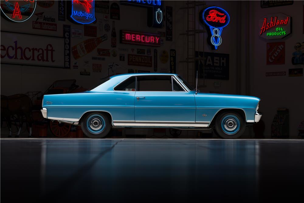 1966 CHEVROLET NOVA SS - Side Profile - 178578