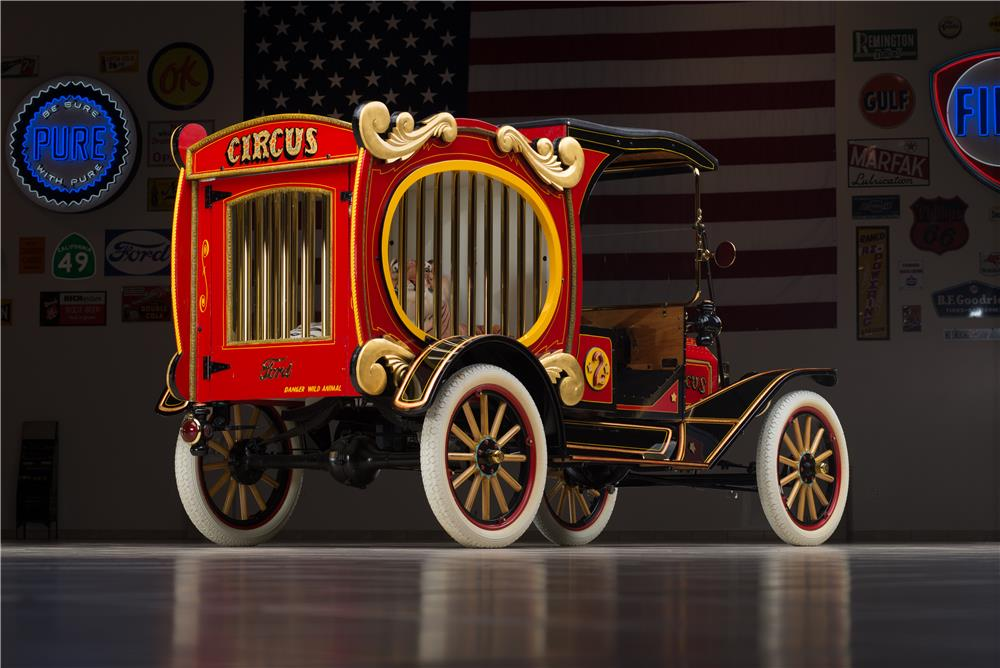 1915 FORD MODEL T CIRCUS WAGON - Rear 3/4 - 178579