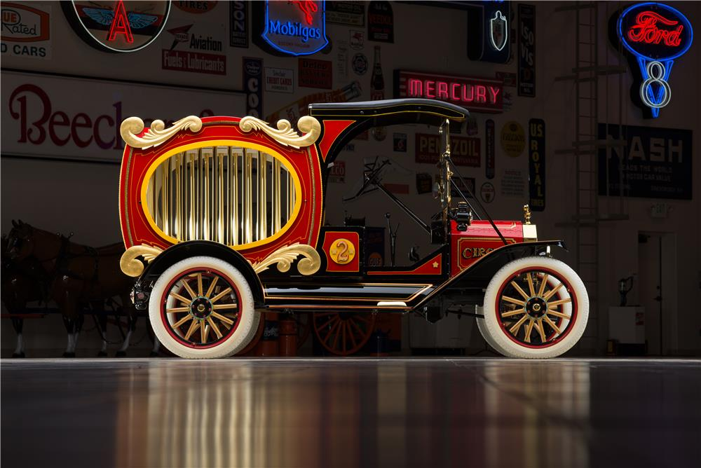 1915 FORD MODEL T CIRCUS WAGON - Side Profile - 178579