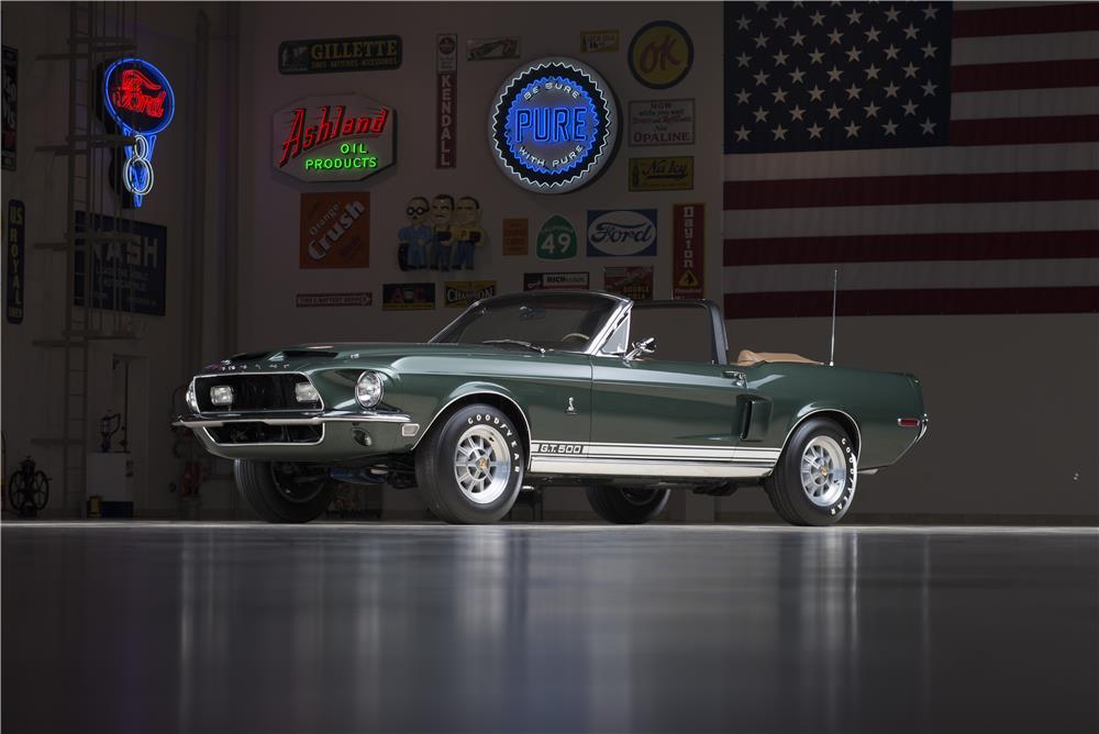 1968 SHELBY GT500 CONVERTIBLE - Front 3/4 - 178580