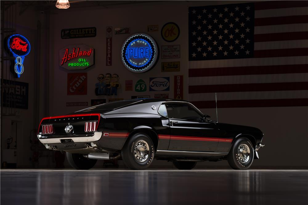 1969 FORD MUSTANG MACH 1 FASTBACK - Rear 3/4 - 178581