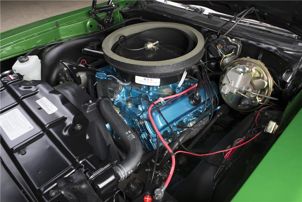 1970 OLDSMOBILE CUTLASS 442 CONVERTIBLE - Engine - 178582