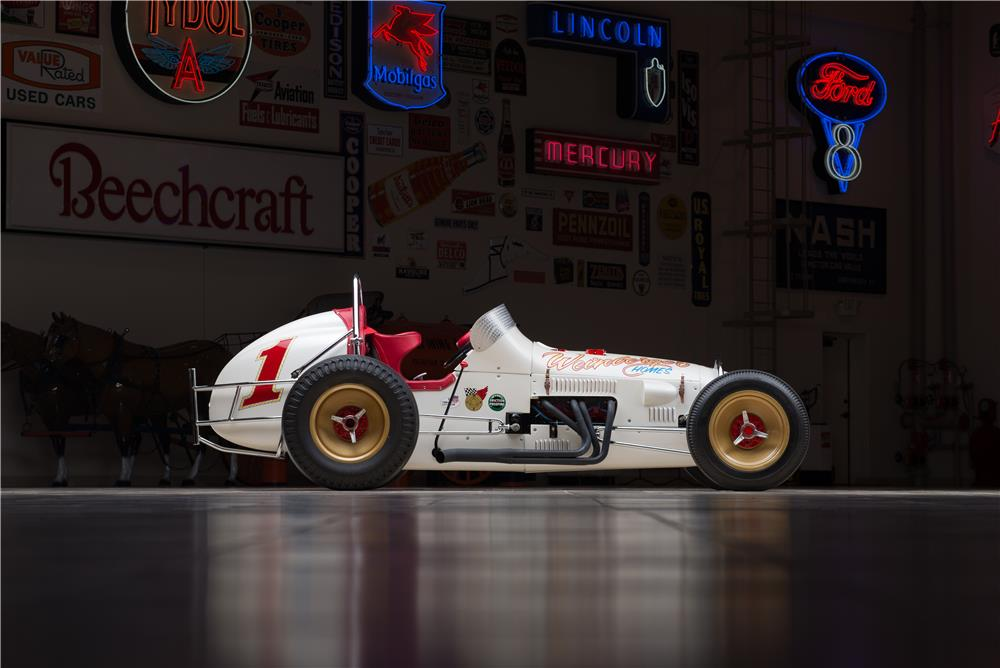 1962 WEINBERGER HOMES SPRINT RACE CAR - Side Profile - 178585