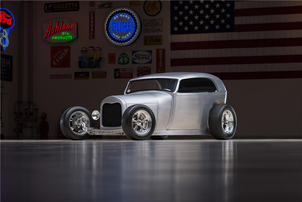"1929 FORD ""ALUMATUB"" HOT ROD - Front 3/4 - 178608"