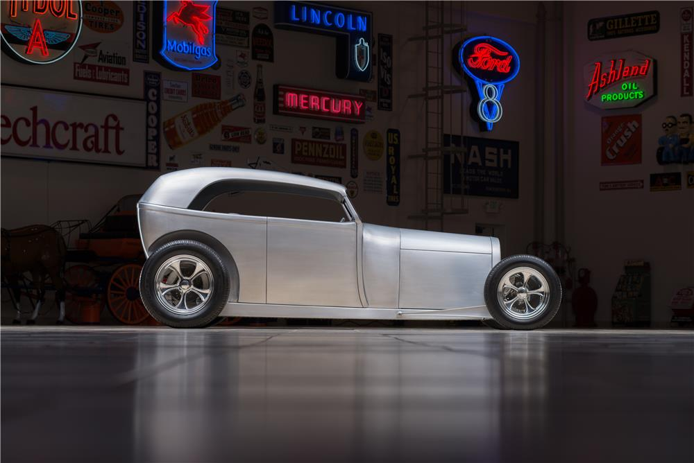 "1929 FORD ""ALUMATUB"" HOT ROD - Side Profile - 178608"