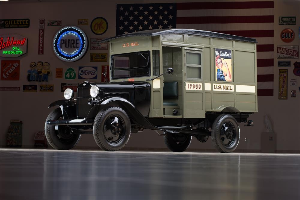 1931 FORD MODEL AA POSTAL DELIVERY TRUCK - Front 3/4 - 178609