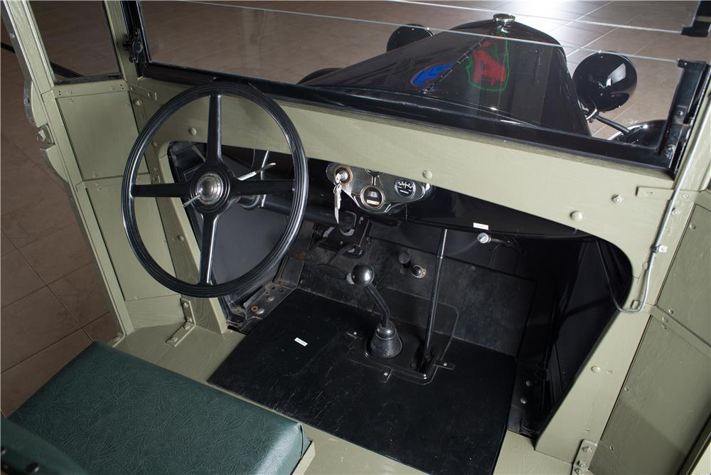 1931 FORD MODEL AA POSTAL DELIVERY TRUCK - Interior - 178609
