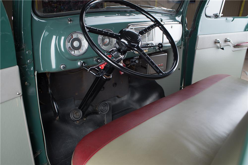 1952 FORD F-1 PICKUP - Interior - 178615