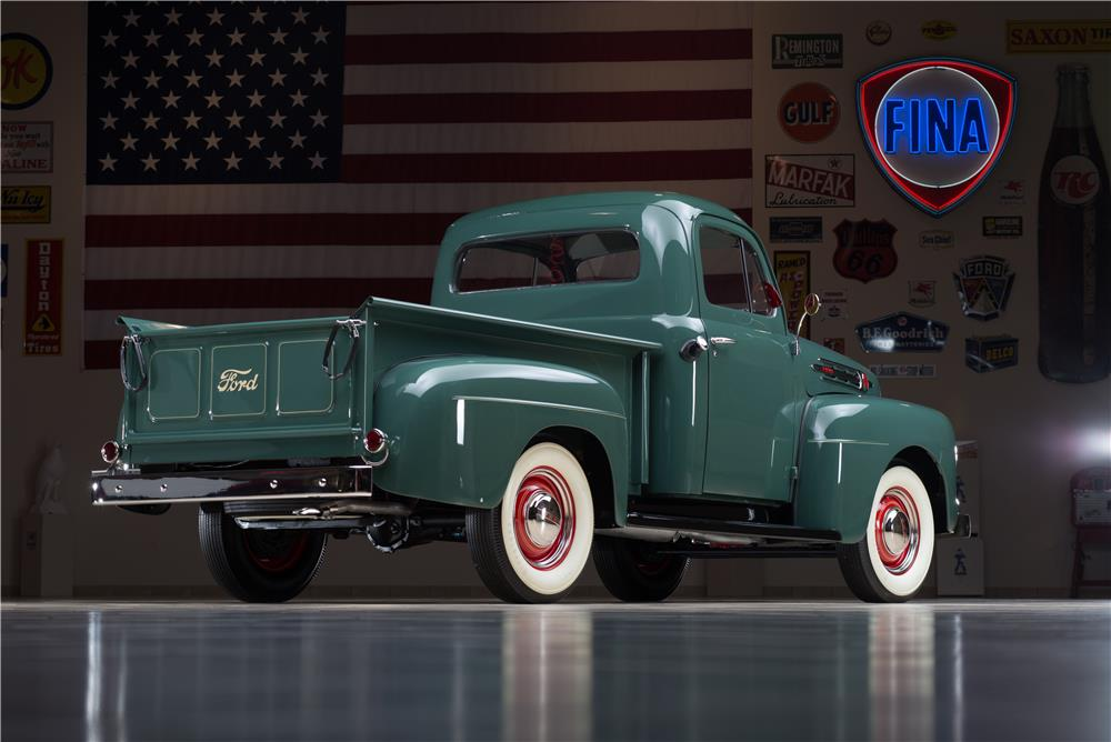 1952 FORD F-1 PICKUP - Rear 3/4 - 178615