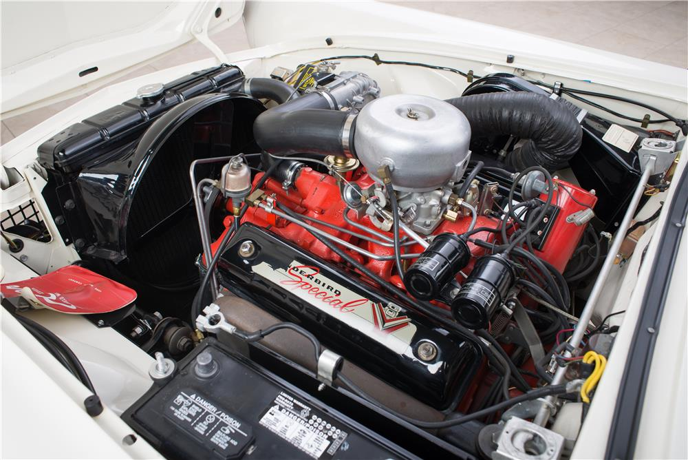 1957 FORD THUNDERBIRD 'F' CONVERTIBLE - Engine - 178617